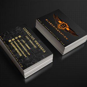 Futuristic Business Cards